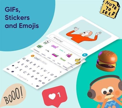 Скриншот Fleksy для Андроид
