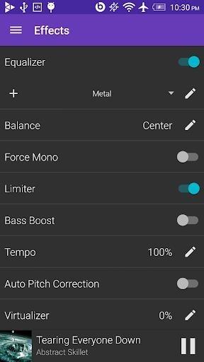 Скриншот GoneMAD Music Player для Андроид