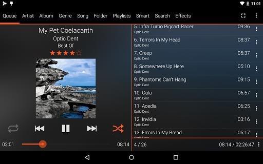 GoneMAD Music Player для Андроид