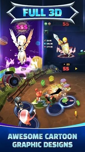 Приложение Hello Hero All Stars: 3D Cartoon Idle RPG для Андроид