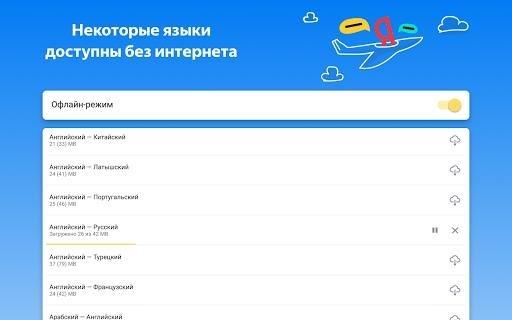 Яндекс Переводчик для Android