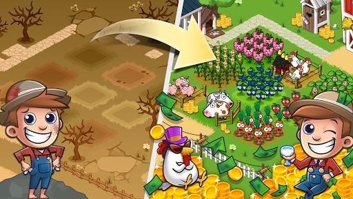 Скриншот Idle Farming Empire для Андроид