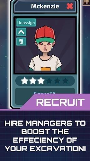 Скриншот Idle Planet Miner для Андроид