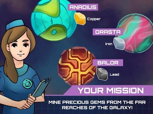 Idle Planet Miner для Андроид