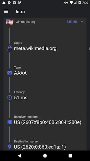 Скриншот Intra для Андроид