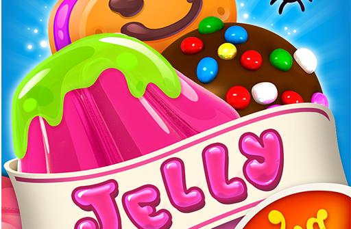Candy Crush Jelly Saga для Андроид скачать бесплатно