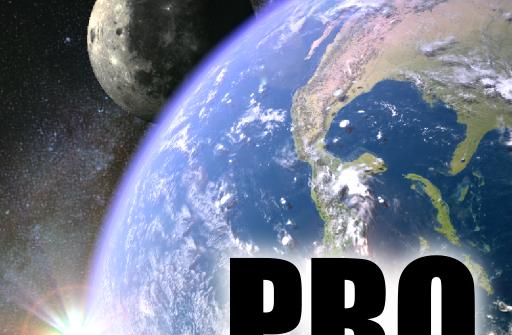 Earth & Moon in HD Gyro 3D PRO для Андроид скачать бесплатно