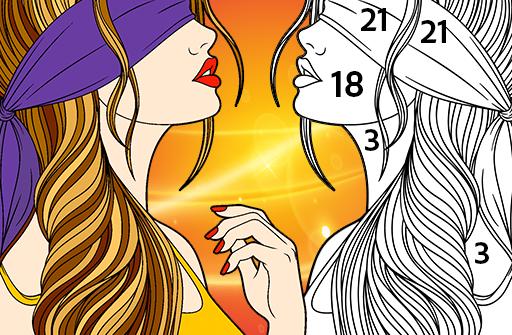 Раскраски по номерам - Премиум раскраска по цифрам для Андроид скачать бесплатно