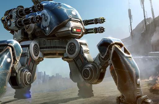 War Robots для Андроид скачать бесплатно