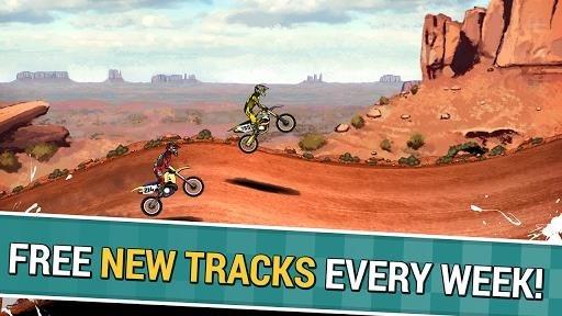 Скриншот Mad Skills Motocross 2 для Андроид