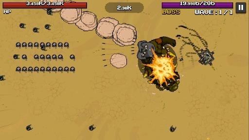 Скриншот Mad Tank для Андроид