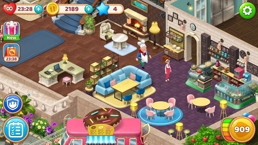 Скриншот Manor Cafe для Андроид