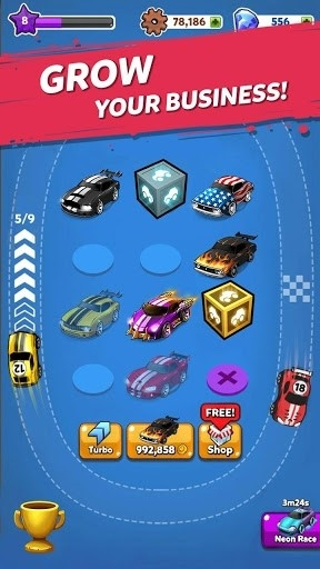 Merge Battle Car Tycoon для Андроид