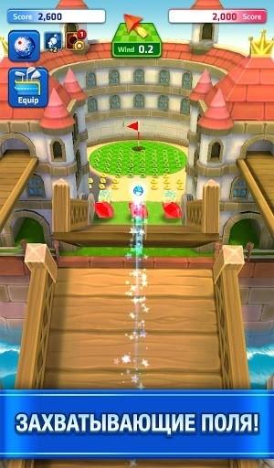Скриншот Mini Golf для Андроид
