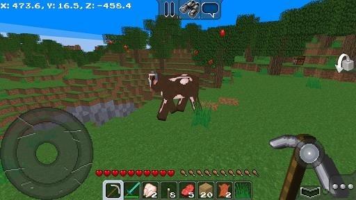 Скриншот MultiCraft для Андроид