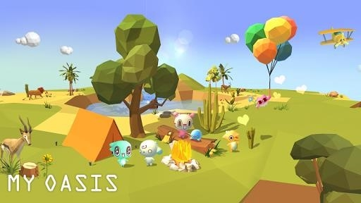 My Oasis — Tap Sky Island для Android