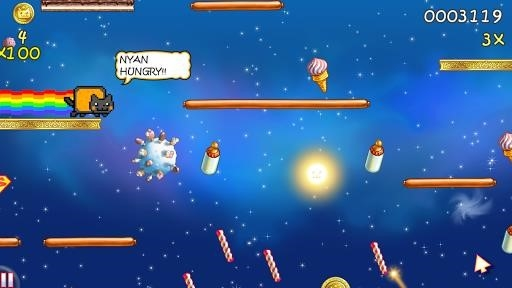 Скриншот Nyan Cat: Lost In Space для Андроид