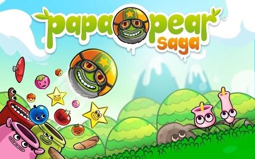 Скриншот Papa Pear Saga для Андроид