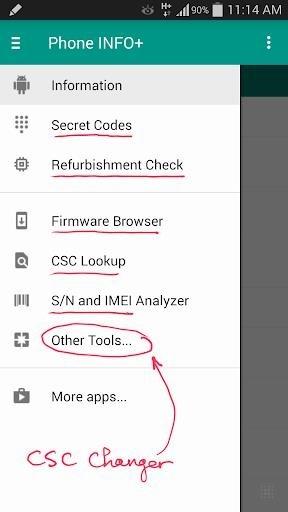 Скриншот Phone INFO для Андроид