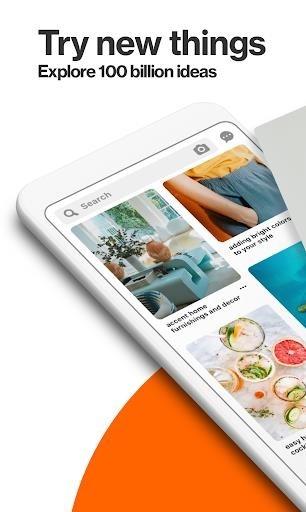 Скриншот Pinterest для Андроид