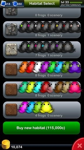 Приложение Pocket Frogs для Андроид