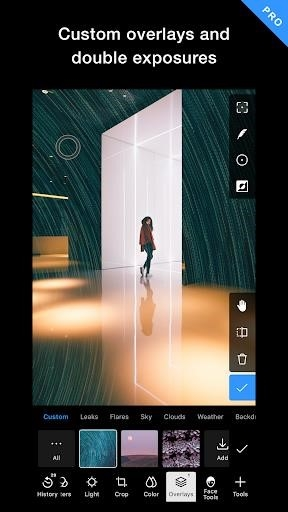 Polarr редактор фото для Андроид