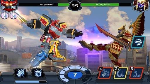Приложение Power Rangers для Андроид