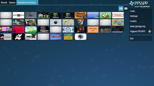 Скриншот PPSSPP для Андроид
