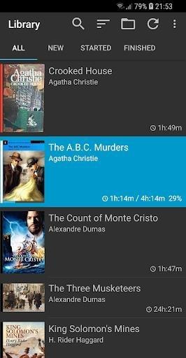 Скриншот Smart AudioBook Player для Андроид
