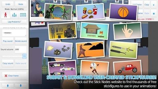 Stick Nodes Pro — Stickfigure Animator для Андроид