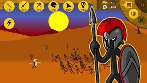 Скриншот Stick War: Legacy для Андроид