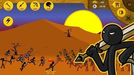 Приложение Stick War: Legacy для Андроид