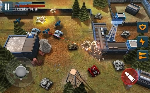 Tank Battle Heroes: Modern World of Shooting, WW2 для Android