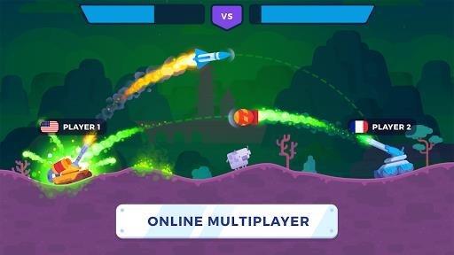 Скриншот Tank Stars для Андроид