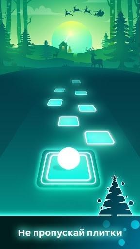 Приложение Tiles Hop для Андроид