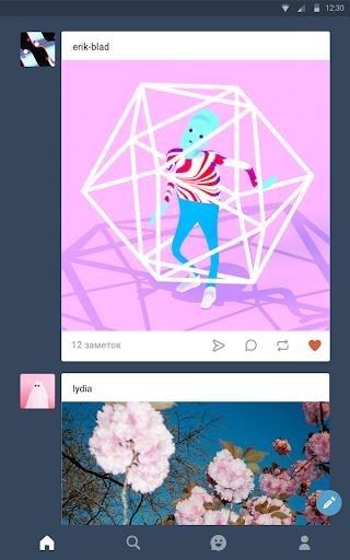 Скриншот Tumblr для Андроид