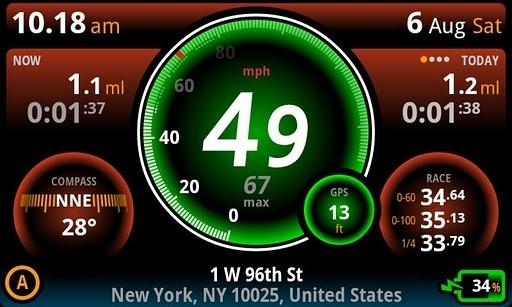 Ulysse Speedometer Pro для Android