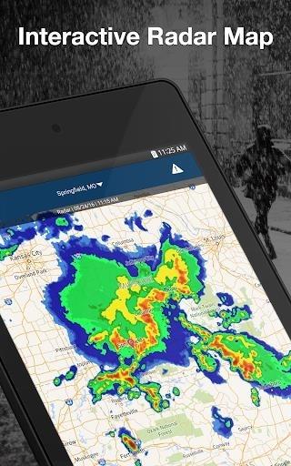 Скриншот Weather by WeatherBug для Андроид