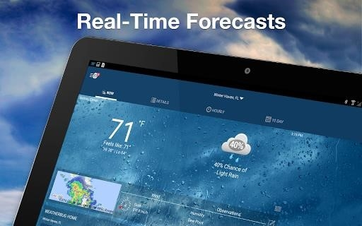 Weather by WeatherBug для Андроид