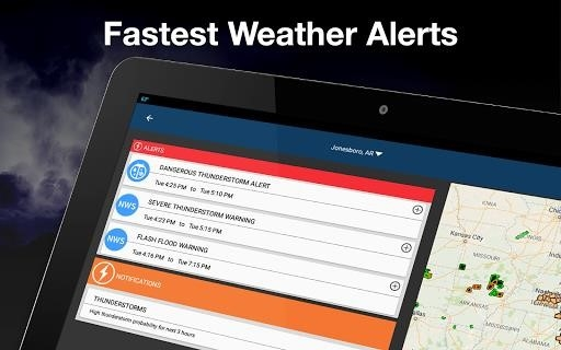 Weather by WeatherBug для Android