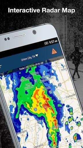 Приложение Weather by WeatherBug для Андроид