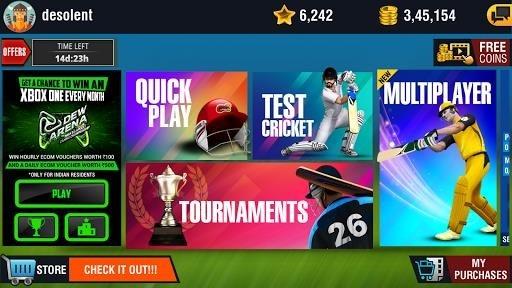 Скриншот World Cricket Championship 2 для Андроид