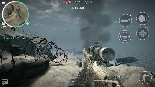 Скриншот World War Heroes для Андроид
