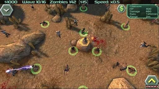 Zombie Defense для Android