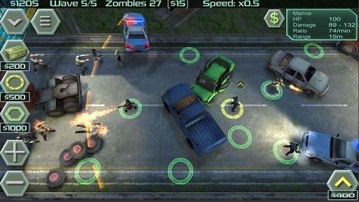 Приложение Zombie Defense для Андроид