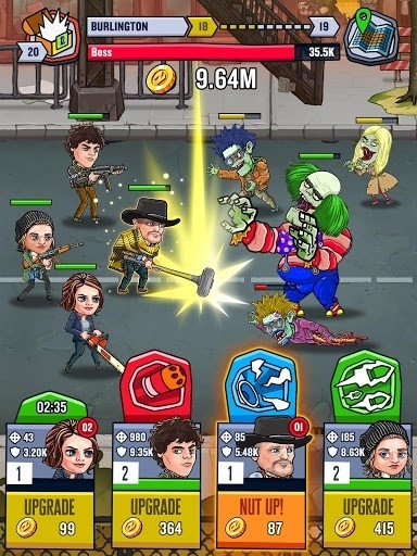 Zombieland: Double Tapper для Android