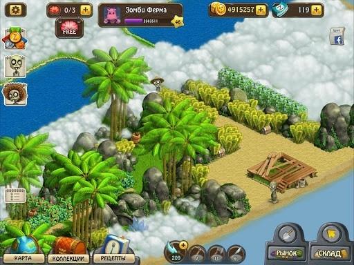 Зомби Ферма для Android
