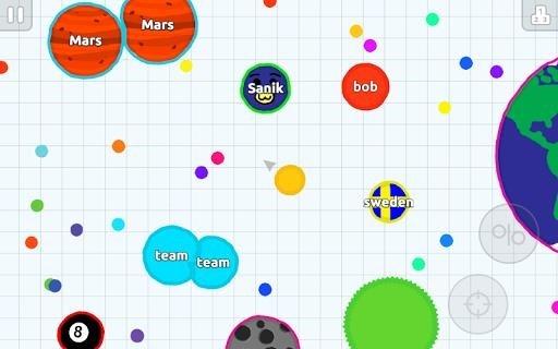 Скриншот Agar.io для Андроид