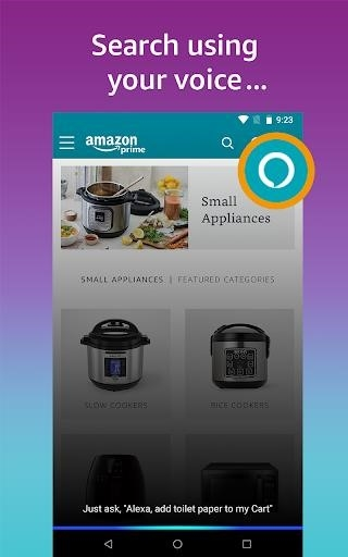 Скриншот Amazon Shopping для Андроид