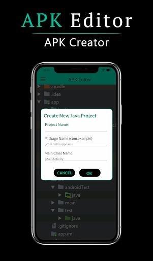 Скриншот APK Editor Pro для Андроид